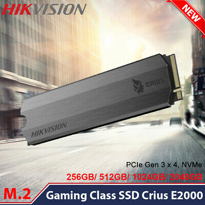 $ CDN266.77 • Buy HIKVISION M.2 Internal Solid State Drive PCIe Gen 3x 4 NVMe Gaming Class SSD Lot