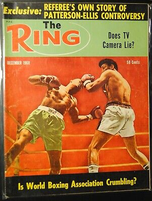 $3.99 • Buy 1968 The Ring Magazine-Floyd Patterson Jimmy Ellis #