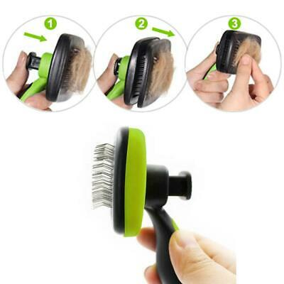£8.99 • Buy Self Cleaning Pet Dog Cat Slicker Brush Grooming For Medium And Long Hair Pets