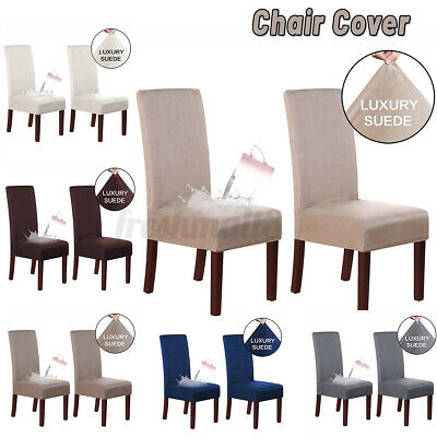 AU23.95 • Buy 2/4pcs Stretch Dining Chair Cover Removable Slipcover Washable Banquet Furniture