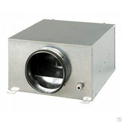 Acoustic Box Fan In Line Extractor For Hydroponic Grow Rooms 4 5 6 8 10 12  Dia • 156.88£