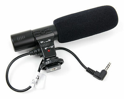 High Quality Stereo SLR Camera Microphone For The Olympus E5 / EM1 II • 19.99£