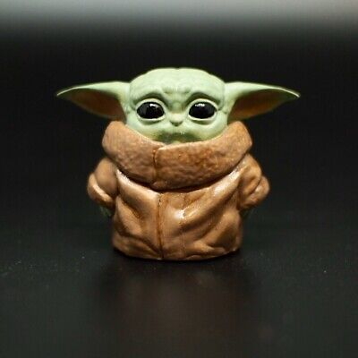 $39.99 • Buy The Child Baby Yoda Figure From Mandalorian | 3D Printed | Hand Painted Fan Art