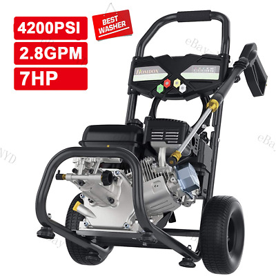 $143.99 • Buy 4200PSI 3GPM Gas Pressure Washer Cold Water 3500PSI Electric Cleaner Machine