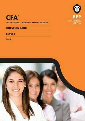 £20.99 • Buy CFA Level 1: Question Bank By BPP Learning Media Book The Cheap Fast Free Post