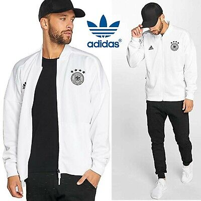 Adidas DFB Germany ZNE Jacket KN CF2452 Soccer Football Running Track Top Size • 51.30£