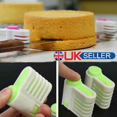 £4.59 • Buy 5 Layers Kitchen Cake Bread Cutter Leveler Slicer Cutting Fixator DIY Tools