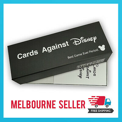 AU29.99 • Buy Cards Against Disney/Cards Against Humanity *Disney Black Edition* AUS STOCK