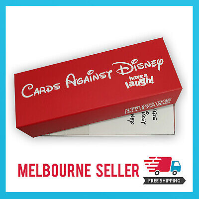 AU29.99 • Buy Cards Against Disney/Cards Against Humanity *Disney Red Edition* MELBOURNE STOCK