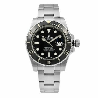 $ CDN12769.48 • Buy Rolex Submariner Date Black Dial Ceramic Bezel Automatic Mens Watch 116610LN