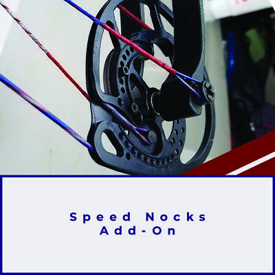 $9.99 • Buy ADD ON Speed Nocks For Compound And Crossbow