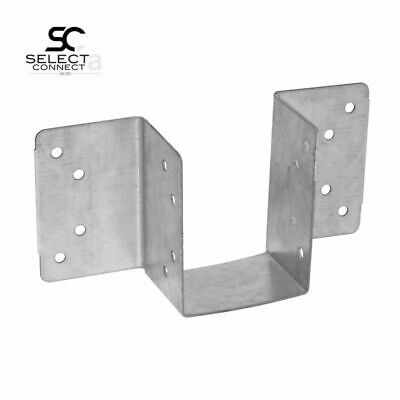 Pack Of 10 - 47mm Mini Timber Jiffy Joist Hangers For Decking / Lofts / Roofing • 9.96£