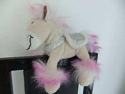 Tesco Chilly And & Friends Pony Horse Tan Pink Soft Cuddly Toy Teddy Next Farm • 9.99£