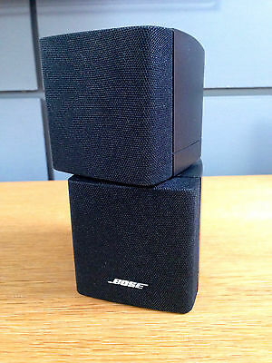Bose Black Double Cube Speaker  Acoustimass 5 10 15 Lifestyle 18 28 Etc • 45£