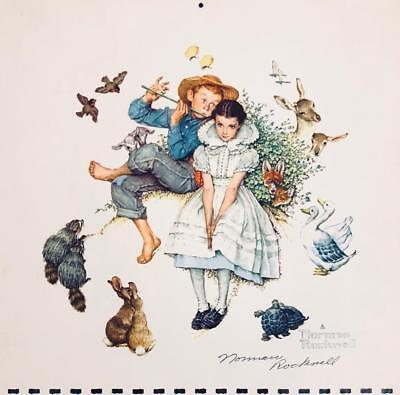 $ CDN227.34 • Buy Norman Rockwell Hand Autograph Signed 11 X 11  Color - Calendar Print