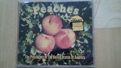 President Of The United States Of America Peaches CD Single • 2.79£