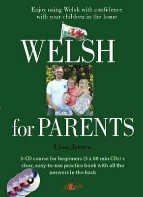Welsh For Parents: Learn Everyday Welsh For The Family Hom New Spiral-bound Book • 24.42£