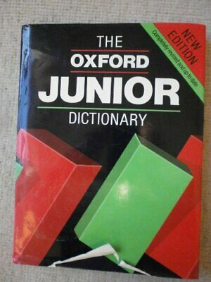 Oxford Junior Dictionary Hardback Book The Cheap Fast Free Post • 5.99£