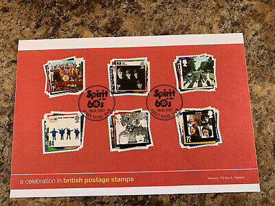 Beatles Spirit Of The 60's Stamps 2007  • 9.99£