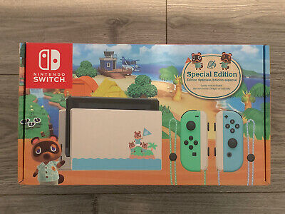 $ CDN1006.86 • Buy Nintendo Switch Animal Crossing Special Edition Console