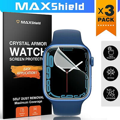 AU8.99 • Buy MaxShield Screen Protector For Apple Watch Series 2/3/4/5 38/42mm 40/44mm IWatch