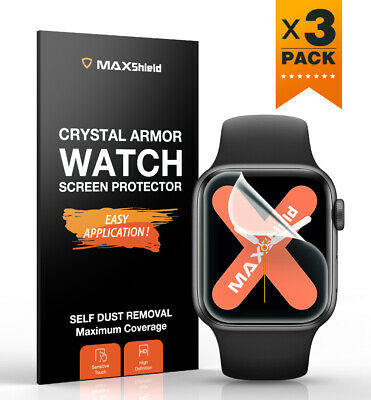 AU8.99 • Buy MaxShield Screen Protector Fr Apple Watch Series 3/4/5/6 SE 38/42 40/44mm IWatch