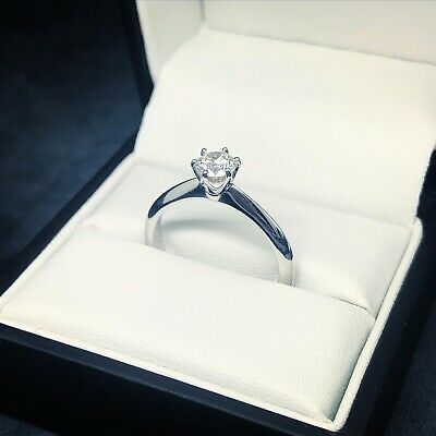 AU2300 • Buy Solitaire Diamond Ring