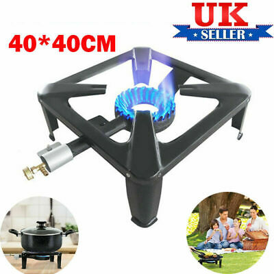 £20.99 • Buy Cast Iron Large Gas LPG Burner Cooker Gas Boiling Ring Restaurant Catering