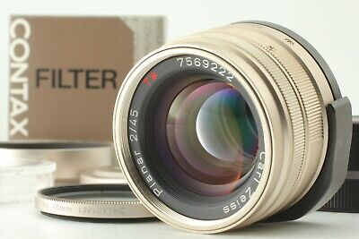 $415.99 • Buy [Near Mint] Carl Zeiss Planar 45mm F/2 T* G Lens For Contax G1 G2 From Japan