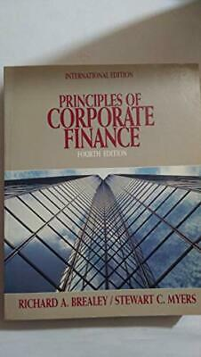 £3.49 • Buy Principles Of Corporate Finance By Myers, Stewart C. Paperback Book The Cheap