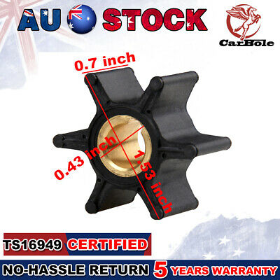 AU16.99 • Buy Hot Water Impeller For Evinrude Johnson Fit 2hp-6hp 387361 763735 Outboard Motor