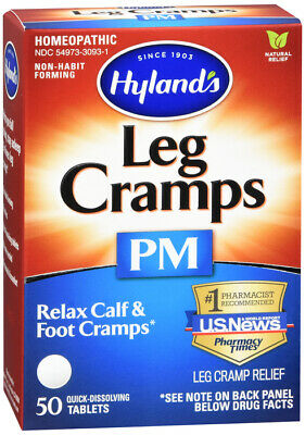 $ CDN12.59 • Buy Hylands Leg Cramp Pm Tablet 50ct  Contains Cinchona ( Homeopathic Quinine)