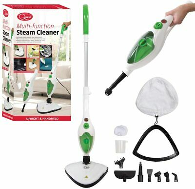 Quest 1500W 11-in-1 Hot Steam Cleaner Mop Handheld Upright Floor Carpet Washer  • 34.94£