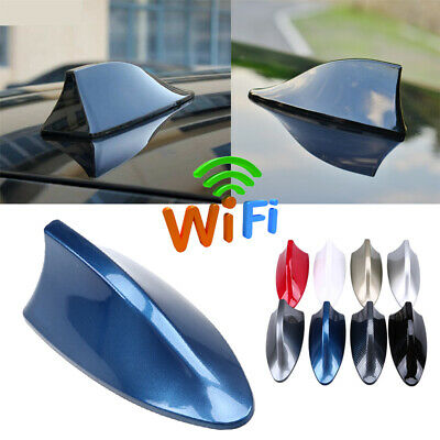 Car Vechile Roof Radio AM/FM Signal Shark Fin Aerial Antenna Universal UK STOCK • 7.99£
