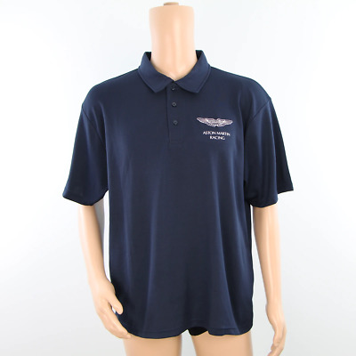 Used - Aston Martin Racing Polo Shirt Dark Blue - 2013 • 35£