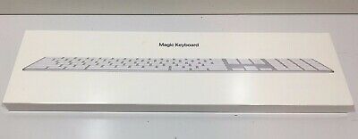 $ CDN127.83 • Buy Apple Magic Keyboard With Numeric Keypad (Wireless / Rechargable) NEW SEALED