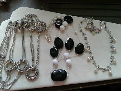 $ CDN13.79 • Buy Lot Of 3 Necklaces, 1 Lia Sophia, 2 Unmarked