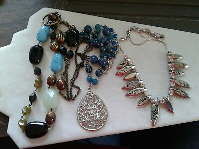 $ CDN18.80 • Buy Lot Of 3 Necklaces, Lia Sophia, Bonniy, Unmarked