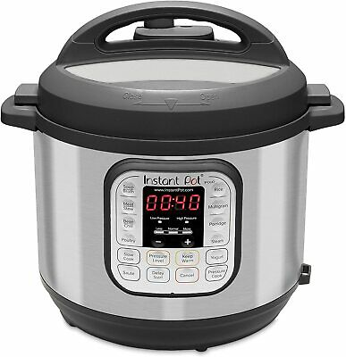 $88.88 • Buy Instant Pot Duo 7-in-1 Slow Pressure Cooker, Rice Cooker, 6 Quart, 14 One-Touch