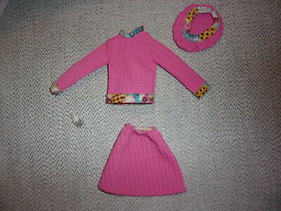 $17.99 • Buy Vintage Kenner ~ Dusty Doll Original Pink 3 Piece Outfit ~ Tagged
