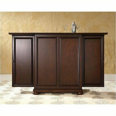 $569.90 • Buy Pemberly Row Expandable Home Bar Cabinet In Vintage Mahogany