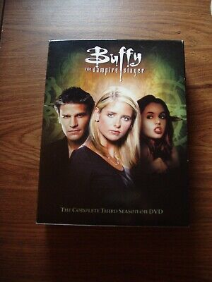 $8.99 • Buy Buffy The Vampire Slayer Season  3  Dvd  Thick Box