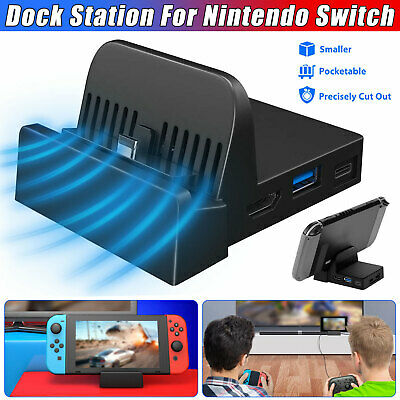 $16.99 • Buy For Nintendo Switch Portable Mini Replacement Dock Stand Docking Station Cradle