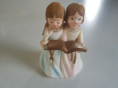 $ CDN8.99 • Buy Christmas Decoration Angels With Light Up Candle 6 Inch Vintage