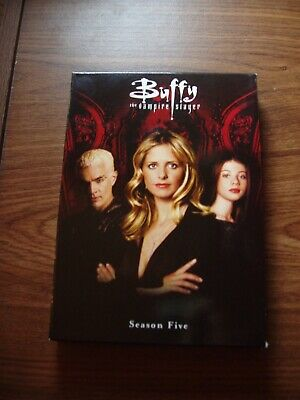 $9.99 • Buy Buffy The Vampire Slayer Season 5  Dvd Slim  Set