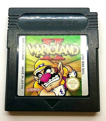 AU69 • Buy Wario Land II (2) For Nintendo Gameboy Color. Australian Release. Warioland