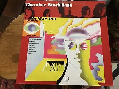 The Chocolate Watchband – No Way Out REISSUE LP Garage Rock • 10£