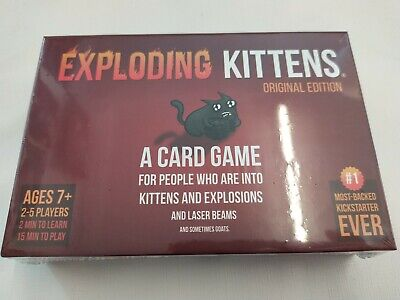 AU29.78 • Buy Exploding Kittens: A Card Game About Kittens And Explosions New Sealed Genuine