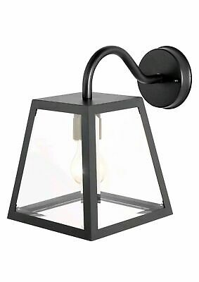 Outdoor Wall Light URSA In Black IP44 NEW  • 19.99£