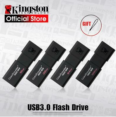 AU10.50 • Buy Kingston USB 3.0 Flash Drive Data Traveler Memory Stick 32GB 64GB 16GB 128GB New